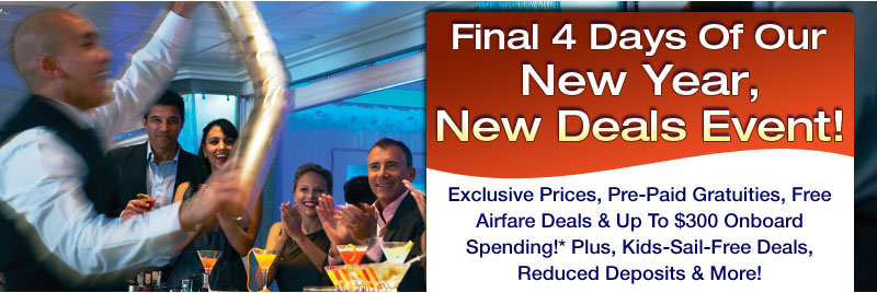 Final 4 Days Of Our New Year, New Deals Event